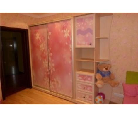 Шкаф-купе для детской модель 557