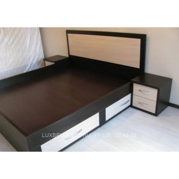 Двуспальная кровать дсп своими руками