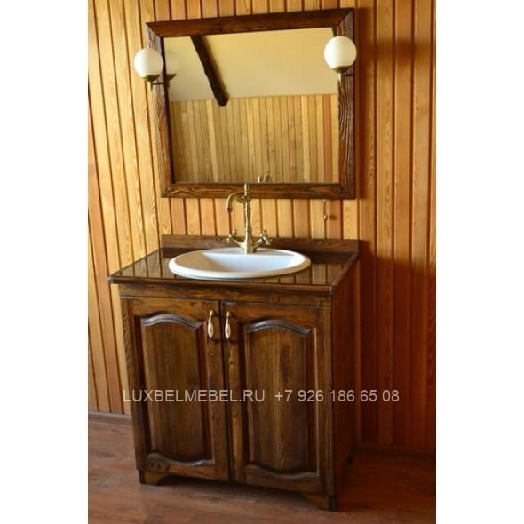 Мебель в ванную своими руками из дерева 545