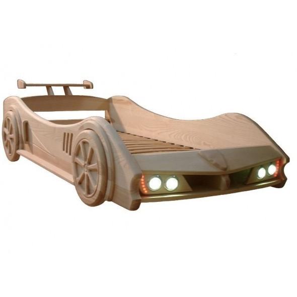 Кровать машинка из дерева